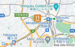 Отель Shinjuku Washington Hotel Annex 3* на карте мира