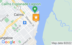 Отель Piermonde Apartments Cairns на карте мира