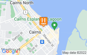 Отель Cairns City Motel 3* на карте мира