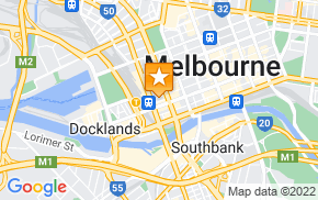Отель Apartments Of Melbourne Southern Cross на карте мира