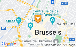 Отель Apartments Downtown Residence Brussels на карте мира