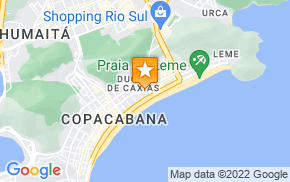 Отель Good Apartment Copacabana R010 на карте мира