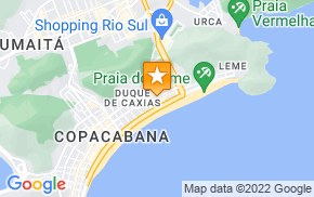 Отель NS Copacabana Apartments 245 на карте мира