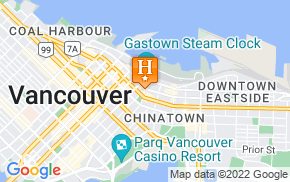 Отель The Cambie Hostel Gastown 1* на карте мира