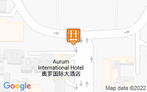 Отель Aurum International Hotel Xian 3* на карте мира