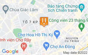 Отель Thanh Phong Hotel District 10 1* на карте мира