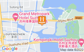 Отель Howard Johnson All Suites Suzhou 5* на карте мира