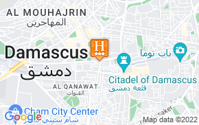 Отель Europe Hotel Damascus 3* на карте мира