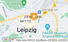 Отель Aparion Apartment Leipzig City на карте мира