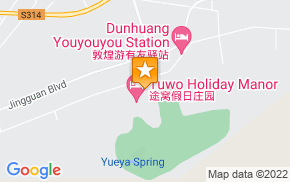 Отель Dunhuang Feifei Youth Hostel на карте мира