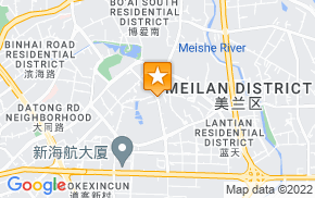 Отель 7Days Inn Haikou Wuzhishan Road на карте мира