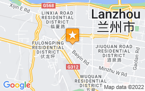 Отель 7Days Inn Lanzhou Yongchang Road на карте мира