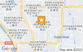 Отель City Comfort Inn Nanchang Railway Station Branch на карте мира