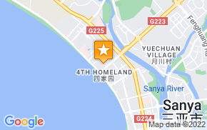 Отель Sanya Lanhaikui Seaview Holiday Apartment (Gold Fenghuang) на карте мира