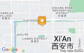 Отель 7Days Inn Xian North Street Subway Station Huimin Street на карте мира