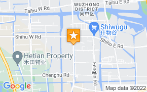 Отель 7Days Inn Suzhou Wuzhong Metro Station на карте мира
