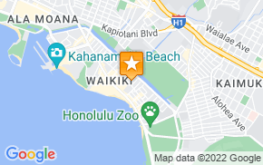 Отель Hilton Garden Inn Waikiki Beach (No Resort Fee & Free Wifi) на карте мира